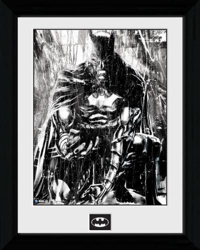 Framed Photographic > Collector Print  Batman Rain 30x40