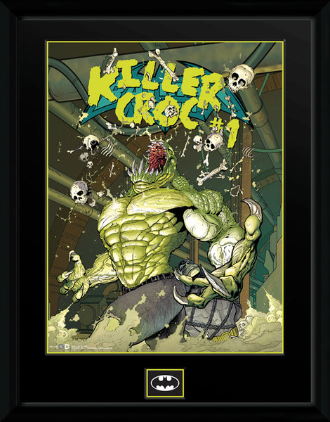 Framed Photographic > Officially Licensed  DC Comics Killer Croc Sewers  30