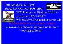 DREAM MAKER TOYS, site logo.