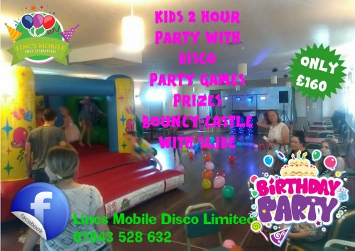 Childs 2 hour Bouncy Castle Party