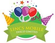 Lincs Mobile Disco Limited, site logo.