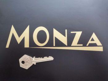 "Monza Watsonian Sidecar Stickers. 7"" Pair."