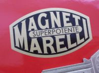 Magneti Marelli Superpotente Black & Gold Sticker. 2.5