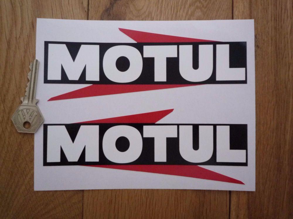 Motul Arrowed Text Stickers. 7