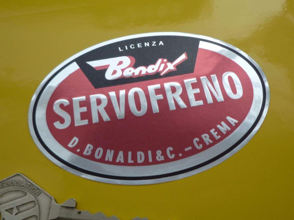 Bendix Servofreno Oval Foil Sticker 3 Quot
