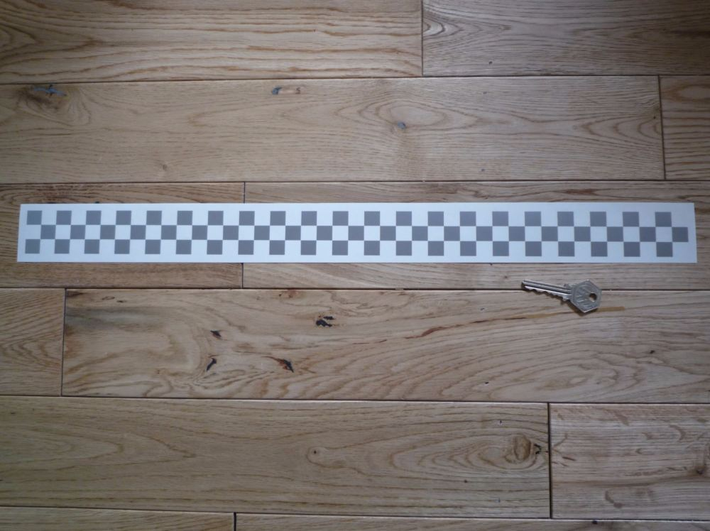 Chequered Tape Checkered Check Cut Vinyl Decal. 22