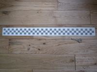"Chequered Tape Checkered Check Cut Vinyl Decal. 22""."