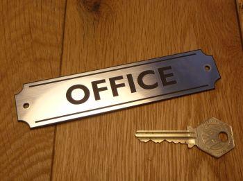 """Office Wall Plaque or Door Sign. 5.5""""."""
