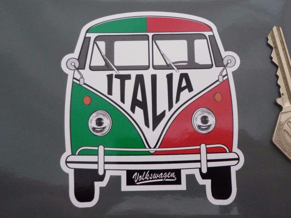 Italy Volkswagen Campervan Travel Sticker 3 5 Quot