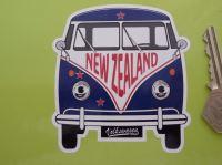 New Zealand Volkswagen Campervan Travel Sticker. 3.5