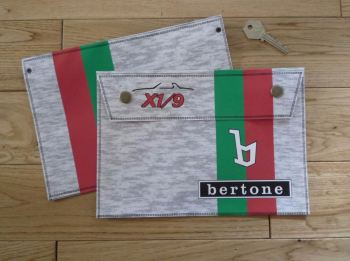 "Bertone X1/9 Document Holder/Toolbag. 10""."