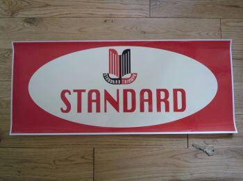 """Triumph Standard Workshop Sticker. 23.5""""."""