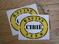 Cibie Racing Team Oval Stickers. 4