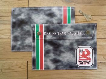 Vauxhall Dealer Team DTV Document Holder/Toolbag. 10""