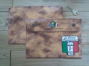 "La Carrera Panamericana Document Holder/Toolbag. 10""."