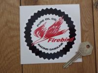 Pure Firebird Racing Gasoline Circular Sticker. 4