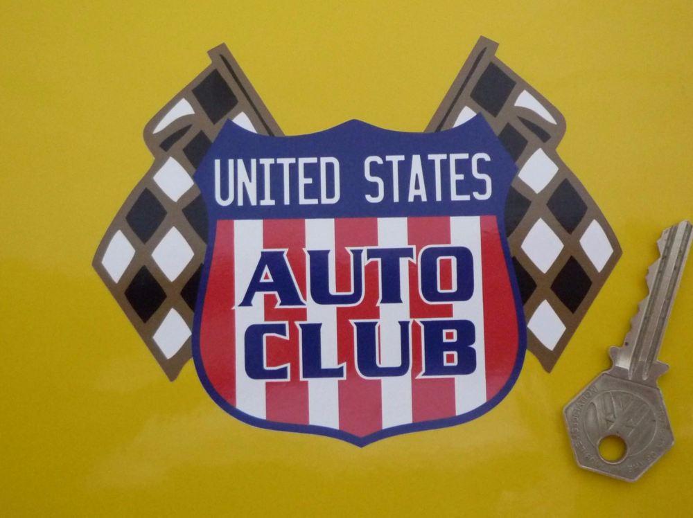 "United States Auto Club Sticker. 4"" or 6"""