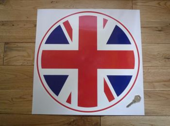 Racing Roundel Union Jack. 400mm or 450mm.