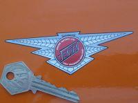 Jensen Motors Ltd Winged Logo Sticker. 4