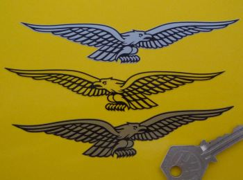 "Moto Guzzi 21st Century Eagle Stickers. 5"" Pair."