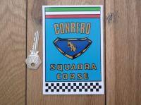 """Conrero Squadra Corse Sticker. 5.5""""."""
