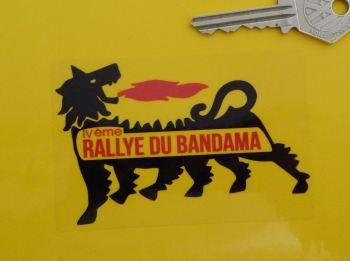 "Rallye Du Bandama Supercortemaggiore Sticker. 3.75""."