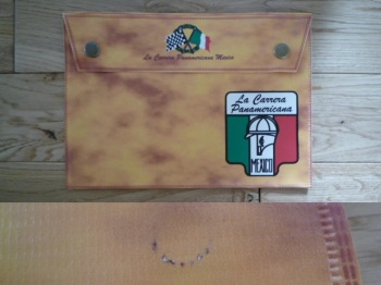 "La Carrera Panamericana Mexico Document Holder Toolbag. 10"". Slight Second 292."