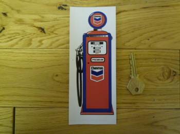 Chevron Petrol Pump Bookmark/Little Art. BM112.