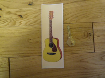 Acoustic Guitar Bookmark/Little Art. BM118.