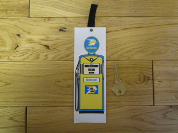 National Petrol Pump Bookmark. BM122.
