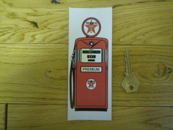 Texaco Petrol Pump Bookmark/Little Art. BM126.
