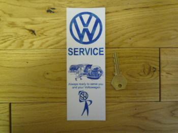 VW Service Bookmark/Little Art
