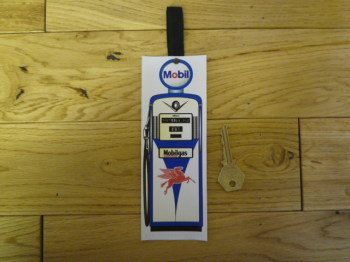 Mobilgas Petrol Pump Bookmark. BM130.