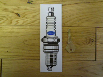 Authentic Spark Plug Bookmark/Little Art. BM133.