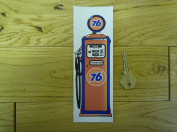 Union 76 Petrol Pump Bookmark/Little Art. BM134.