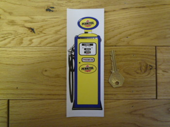 Pennzoil Petrol Pump Bookmark/Little Art. BM138.