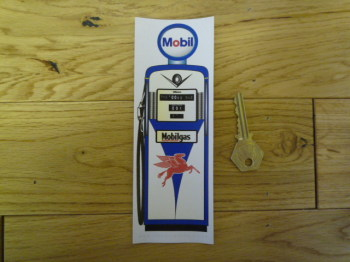 Mobilgas Petrol Pump Bookmark/Little Art. BM145.