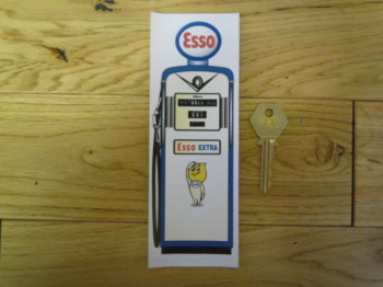 Esso Petrol Pump Bookmark/Little Art. BM150.