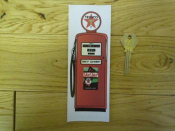 Texaco Petrol Pump Bookmark/Little Art. BM157.