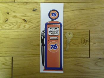 Union 76 Petrol Pump Bookmark/Little Art