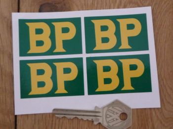 BP 58 - 89 Style Oblong Stickers. Set of 4. 50mm.