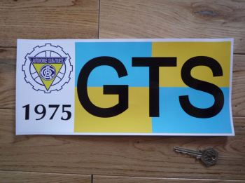"24 Heures Du Mans LeMans Le Mans 1972, 1973 or 1975 GTS Class Sticker. 12""."