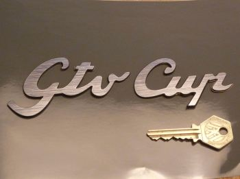 Alfa Romeo Gtv Cup Style Laser Cut Self Adhesive Car Badge. 7""