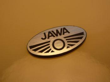 "Jawa Oval Logo Style Laser Cut Magnet. 1.25"""