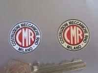 CMR Costruzioni Meccaniche Rho Milano Stickers. Set of 5. 1
