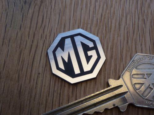 MG Octagon Logo Style Laser Cut Self Adhesive Car Badge. 1