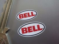 Bell Helmet Restoration Pair of Stickers. 20mm & 25mm.