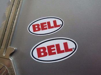 Bell Helmet Restoration Pair of Stickers. 20mm & 25mm.