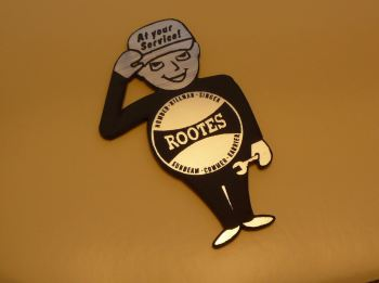 Rootes Service Man Style Laser Cut Magnet. 2.5""