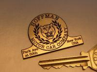 "Jaguar Hoffman Motor Car Company Laser Cut Self Adhesive Car Badge. 2""."